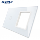 Platine vierge tactile + 1 emplacement vide