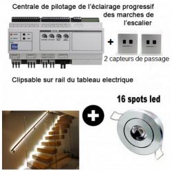 Kit éclairage led progressif pour escalier