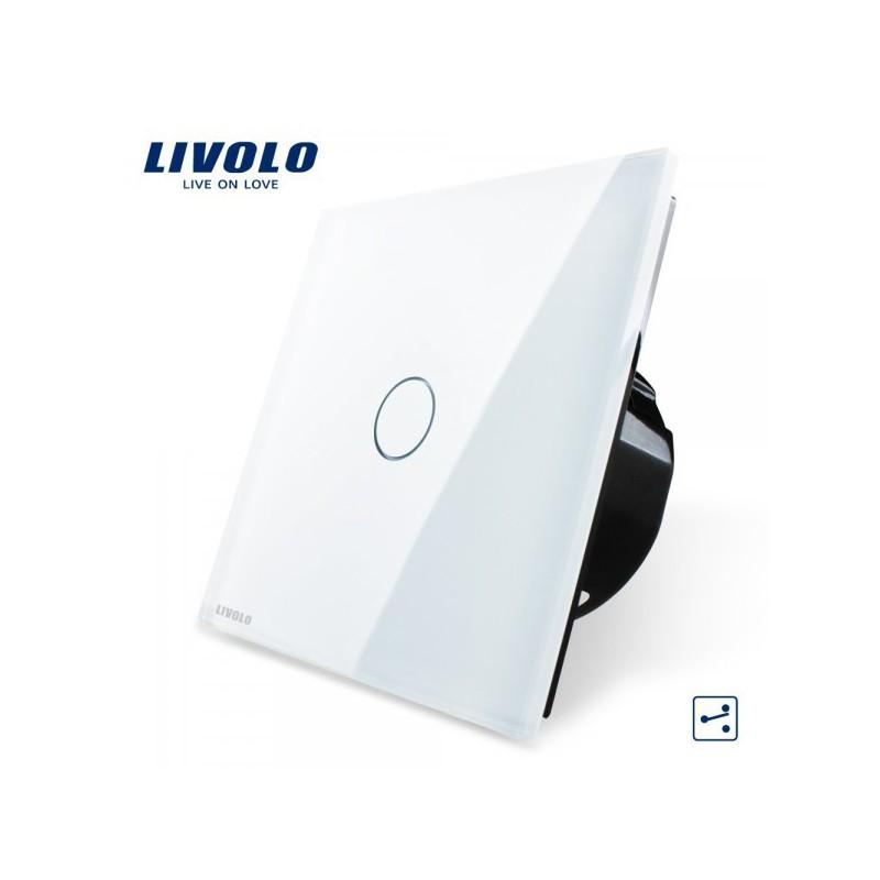 Wechselschalter Glas Touchscreen Wandschalter Lichtschalter VL-C701S ...