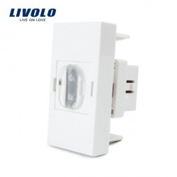 Module HDMI à clipser platine LIVOLO