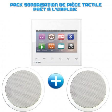 Pack sonorisation de pièce tactile
