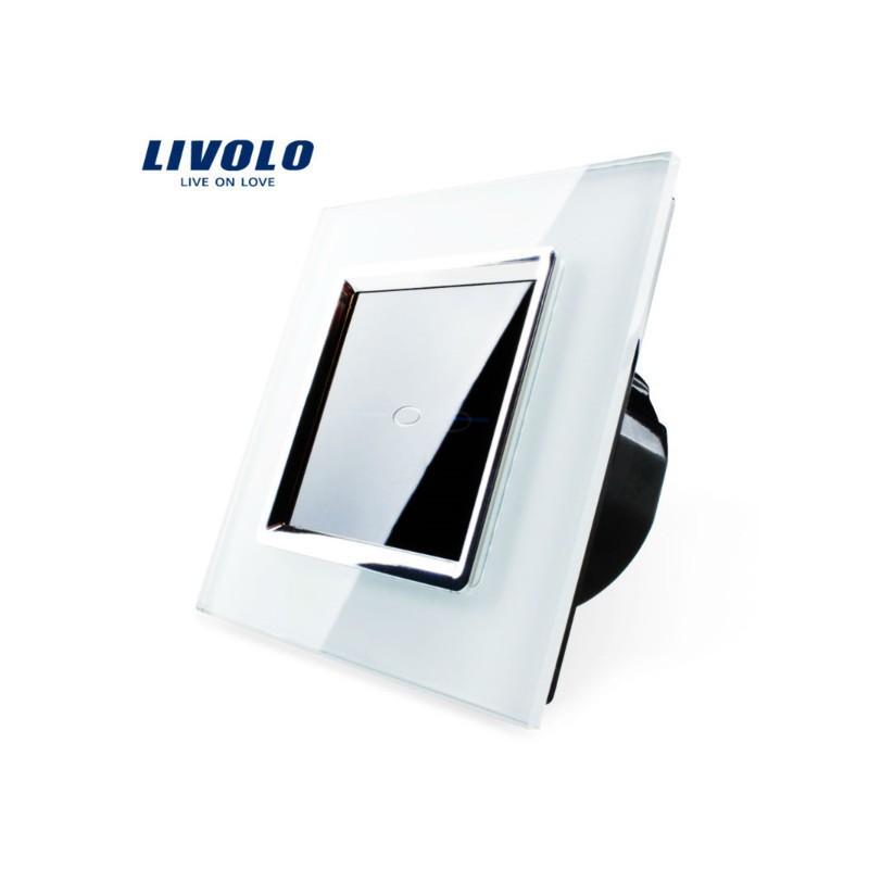 interrupteur impulsion tactile livolo verre securit design. Black Bedroom Furniture Sets. Home Design Ideas