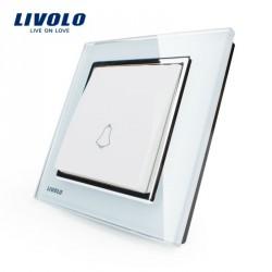 Touch Türklingel Tür klingel Schalter Kristall Glas NEU LED Anzeige