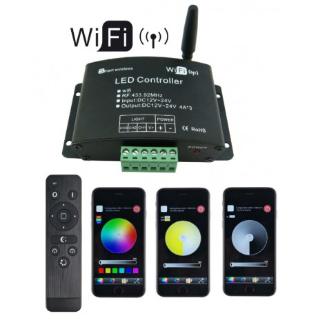 Contolleur led WIFI RGB Androïd Ios