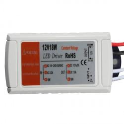 Transformateur 12v pour Led ou bandeau Led 18W