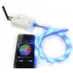 Contolleur led bluetooth RGB Androïd Ios 4 canaux