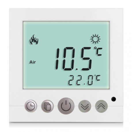 Thermostat lcd design High-Tech