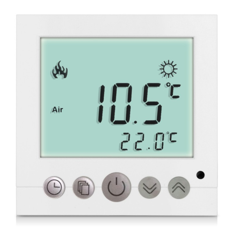Thermostat plancher chauffant lcd design site officiel livolo france - Thermostat plancher chauffant electrique ...