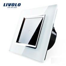 Interrupteur à impulsion design LIVOLO de luxe en verre