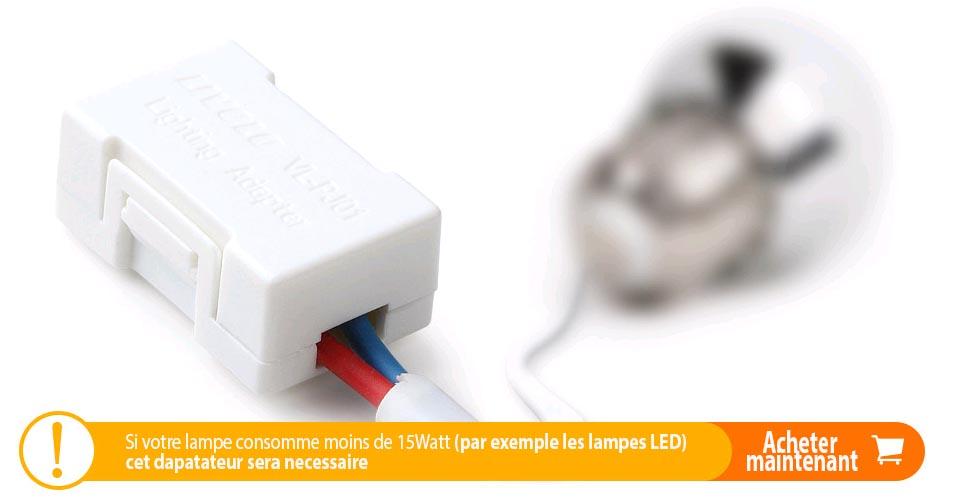 Adaptateur eclairage LED