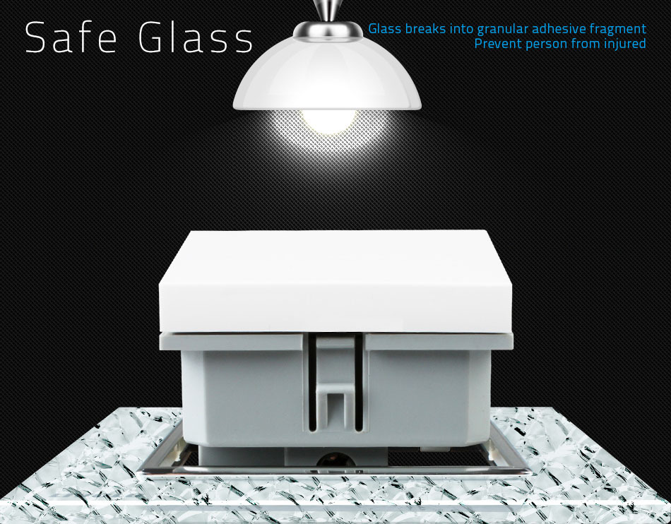 safe glass livolo technology