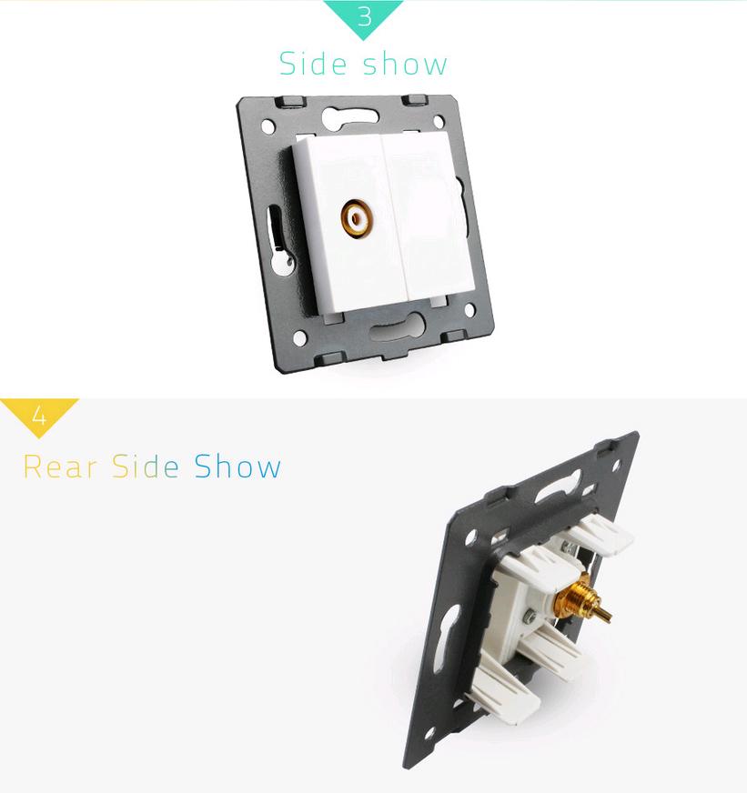 chassis vidéo obturateur livolo