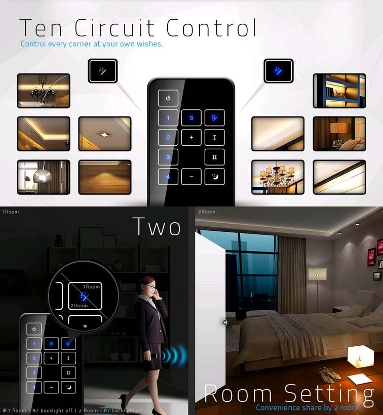 Télécommande livolo interrupteurs et prises