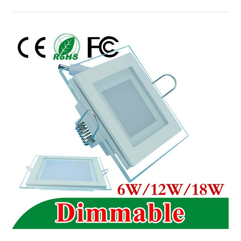 Plus adapté Spot led encastrable carré 3W 4W 6W 9W 12W 15W 25W extra plat VO-37